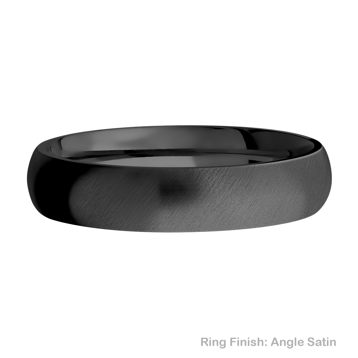 Lashbrook Z5D Zirconium Wedding Ring or Band Alternative View 7