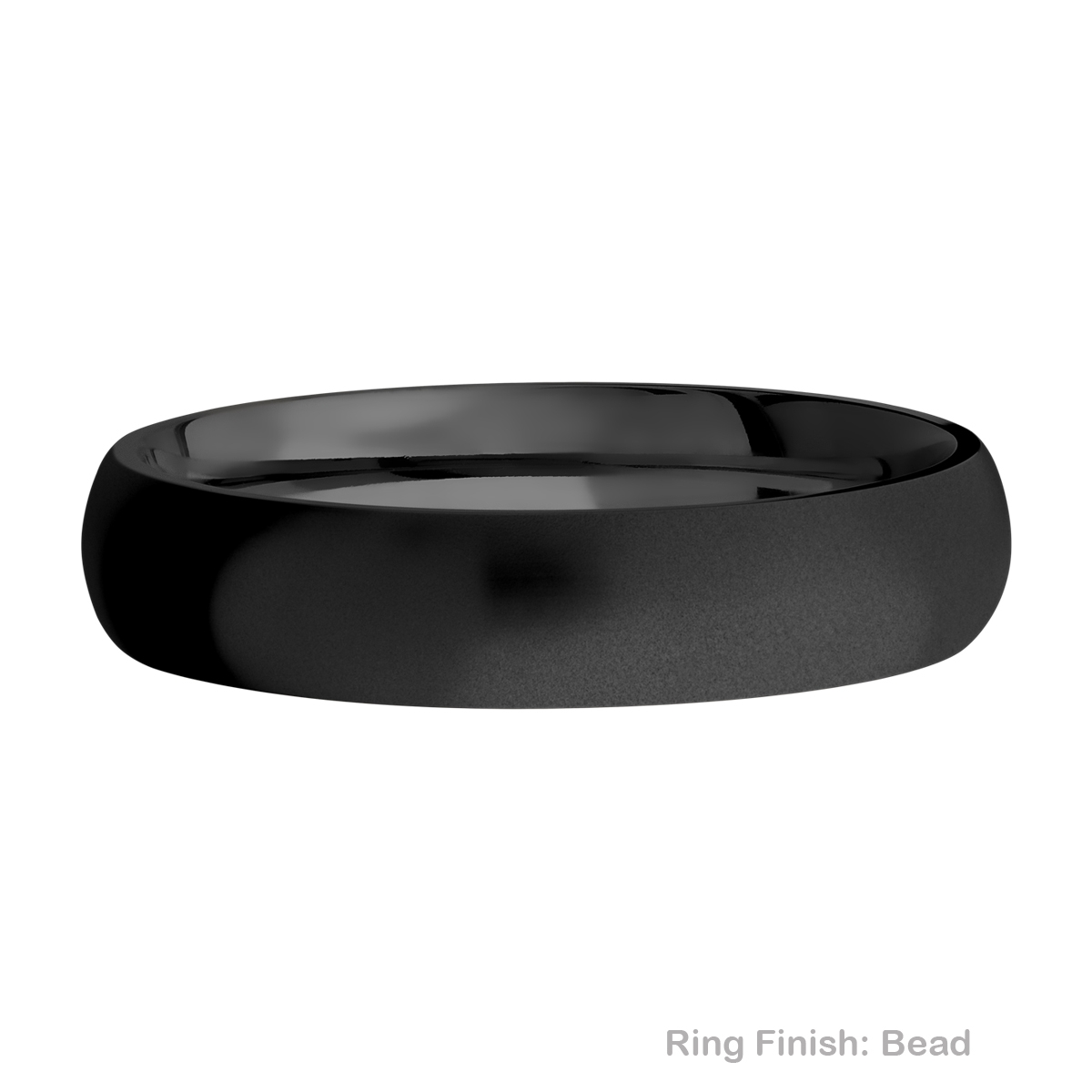 Lashbrook Z5D Zirconium Wedding Ring or Band Alternative View 2