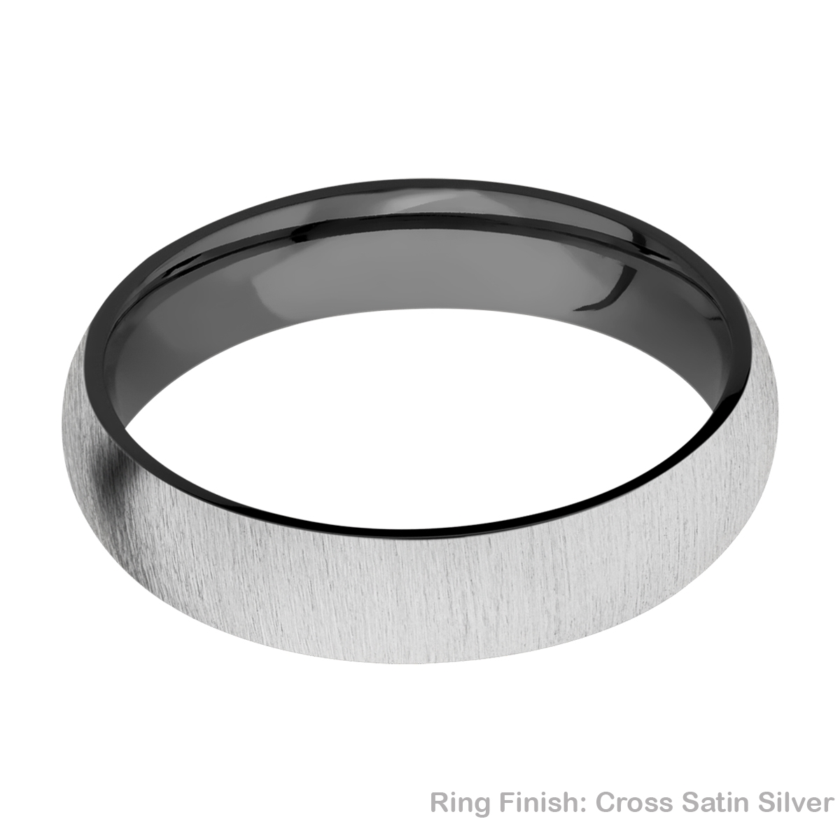 Lashbrook Z5D Zirconium Wedding Ring or Band Alternative View 6