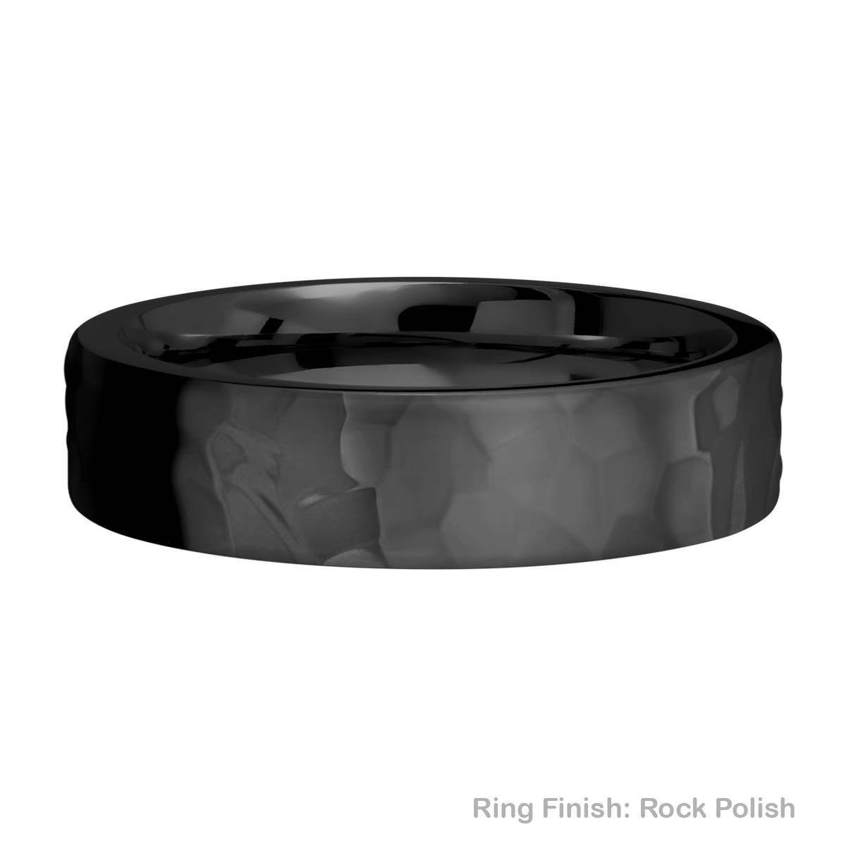 Lashbrook Z6FR Zirconium Wedding Ring or Band Alternative View 14