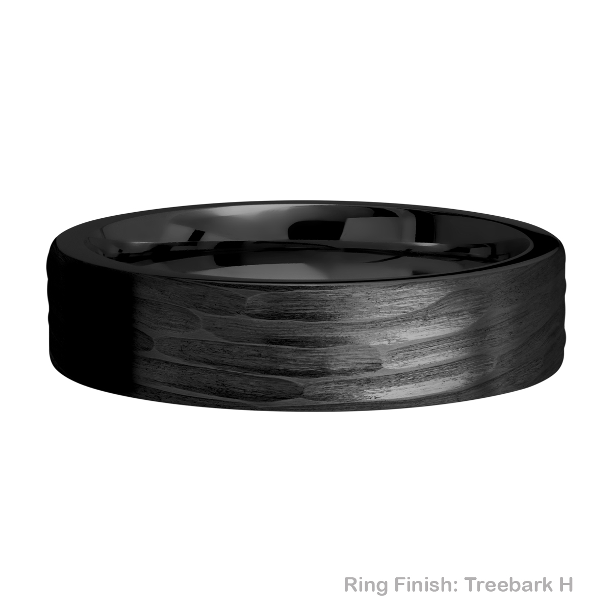 Lashbrook Z6FR Zirconium Wedding Ring or Band Alternative View 10