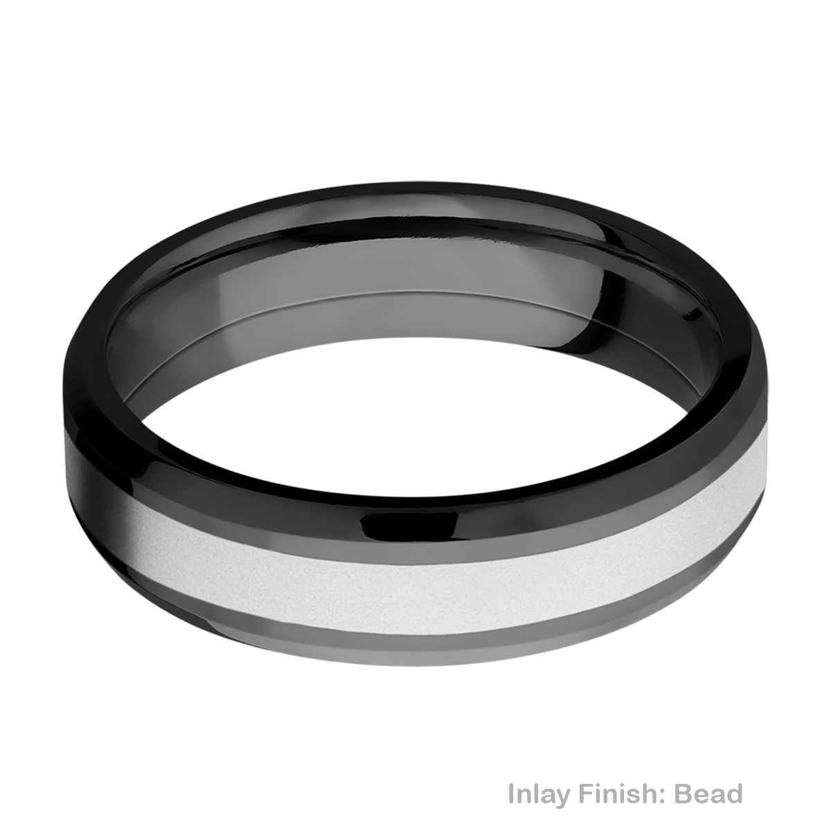 Lashbrook ZPF6B13(NS)/COBALT Zirconium Wedding Ring or Band Alternative View 3