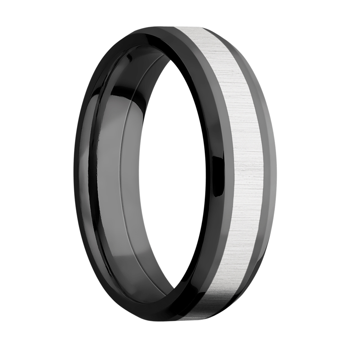 Lashbrook ZPF6B13(NS)/COBALT Zirconium Wedding Ring or Band Alternative View 1