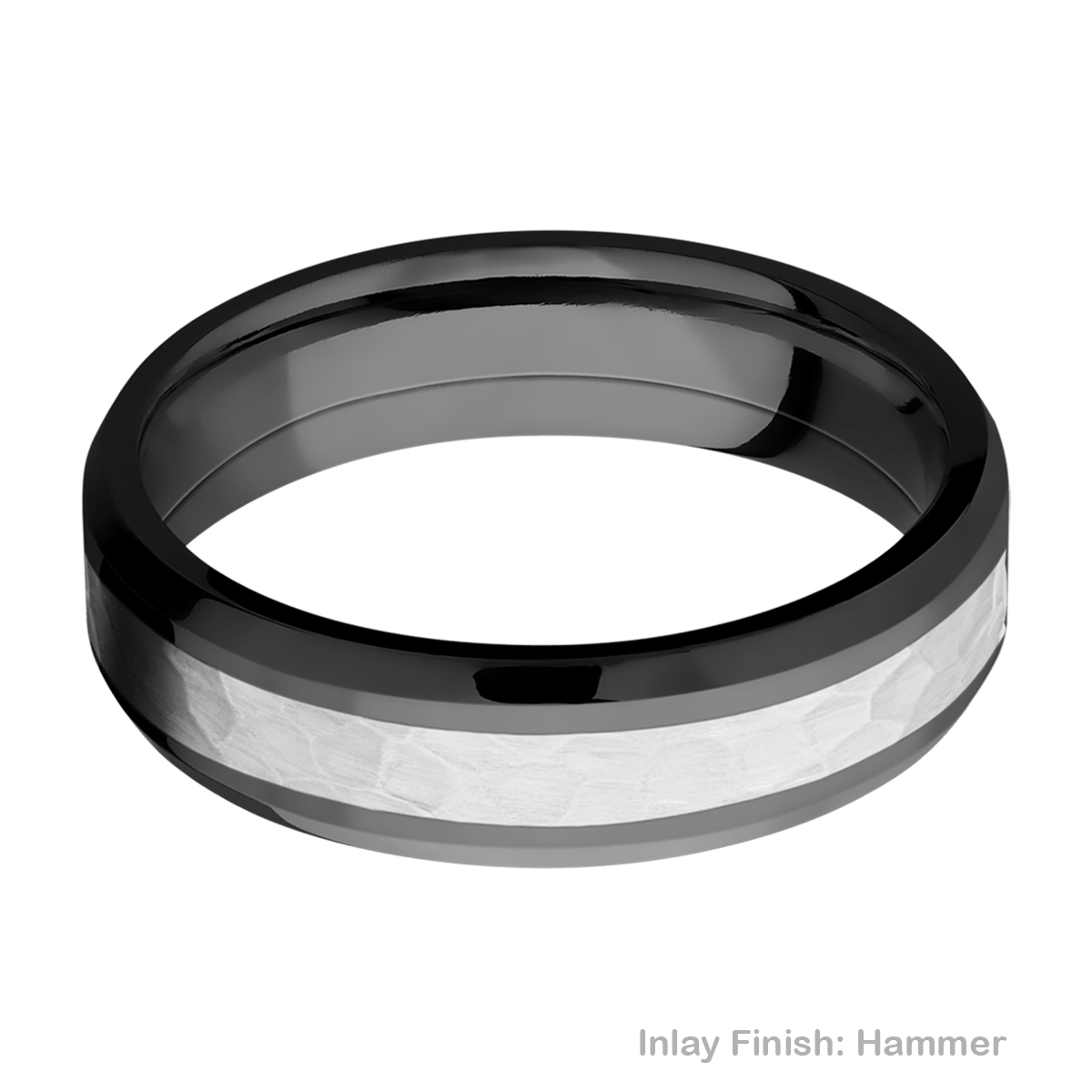Lashbrook ZPF6B13(NS)/COBALT Zirconium Wedding Ring or Band Alternative View 10