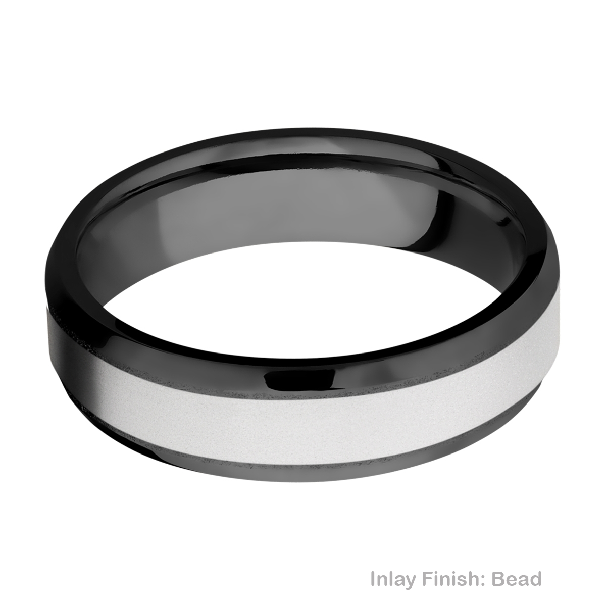 Lashbrook ZPF6B14(NS)/COBALT Zirconium Wedding Ring or Band Alternative View 3