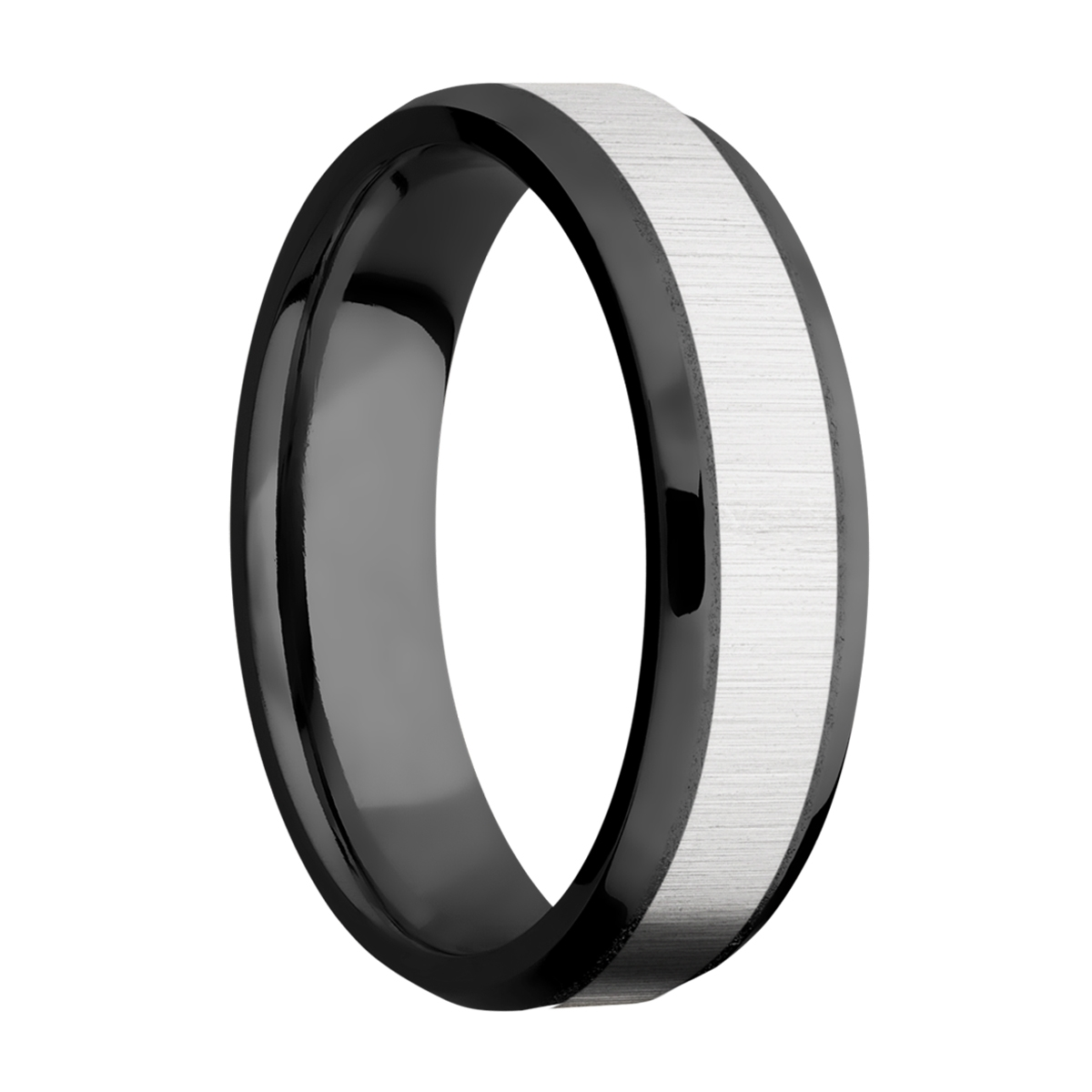 Lashbrook ZPF6B14(NS)/COBALT Zirconium Wedding Ring or Band Alternative View 1
