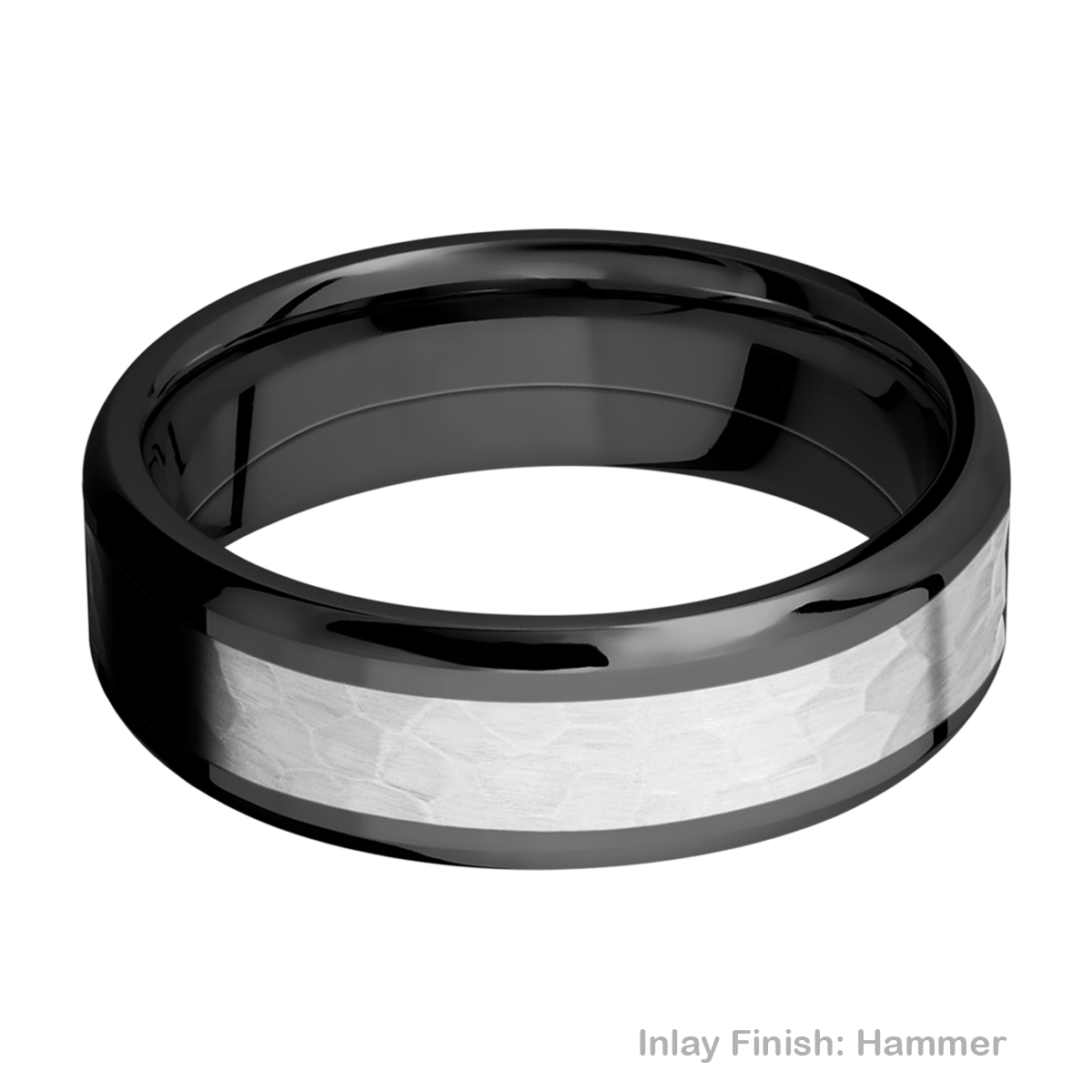 Lashbrook ZPF7B14(NS)/COBALT Zirconium Wedding Ring or Band Alternative View 10