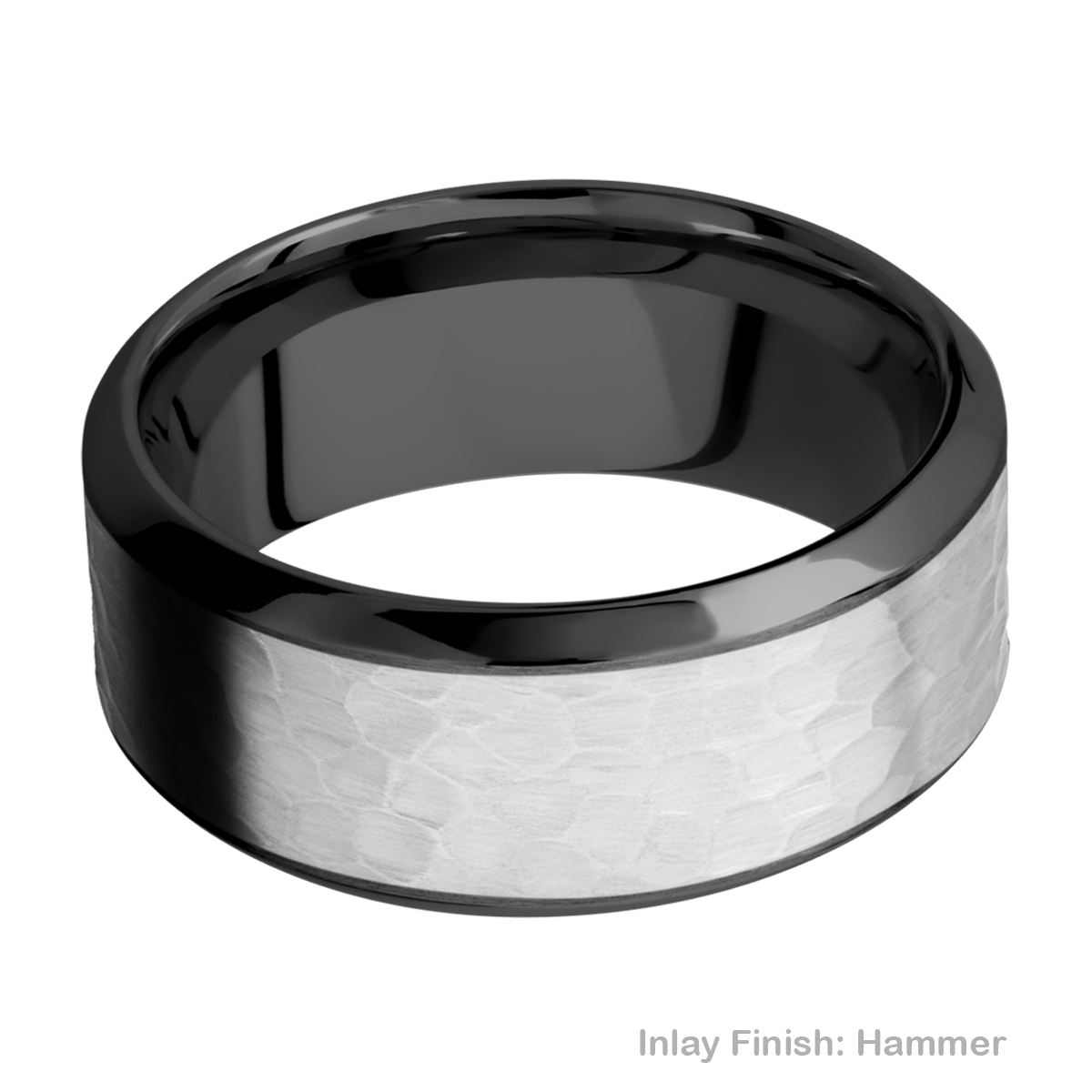 Lashbrook ZPF9HB16/TITANIUM Zirconium Wedding Ring or Band Alternative View 10
