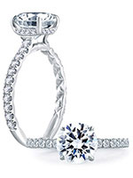 A.JAFFE Engagement Rings - ME1865Q