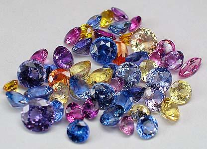 Sapphire Multi Colors