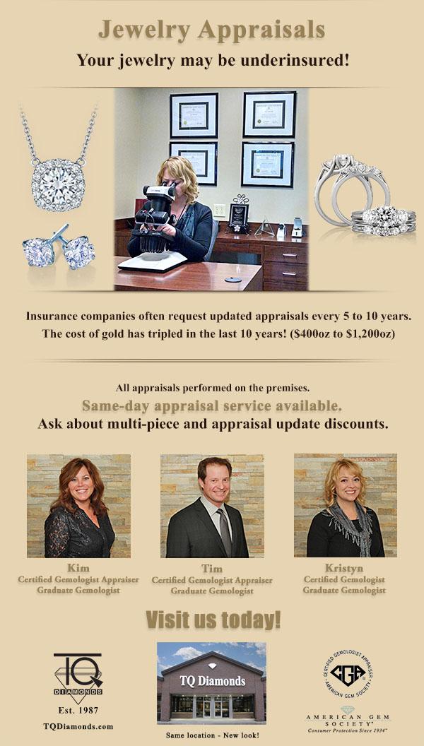 TQ Diamonds - Jewelry Appraisals