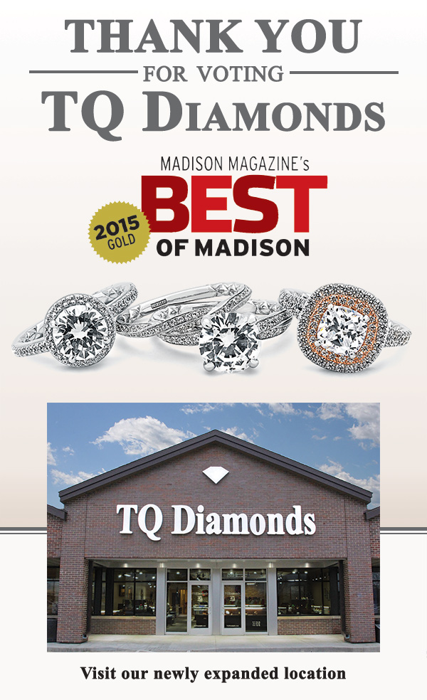 TQ Diamonds - Best Jeweler of Madison 2015