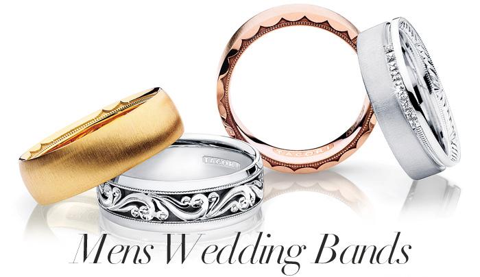 Tacori Mens Wedding Bands