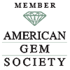 Member of the American Gem Society